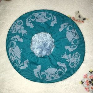 Stitch Pompom Beret